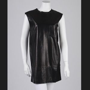 NWOT 3.1 PHILLIP LIM Lambskin Leather Shift Dress